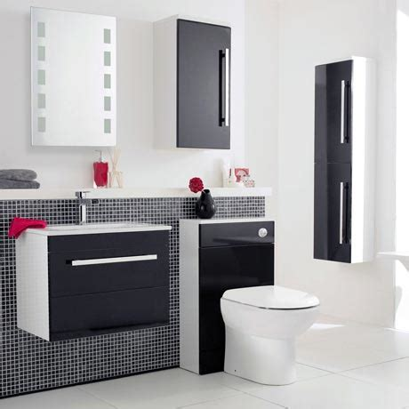Gloss Black Bathroom Furniture High Gloss Black Bathroom Furniture My Web Value