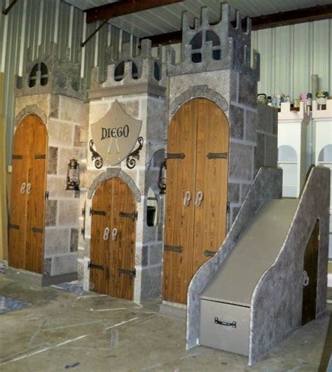 castle beds for boys boys castle bed with slide woodworking projects plans