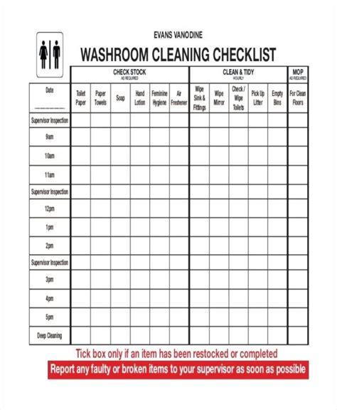 Restaurant Kitchen Inspection Checklist Dandk Organizer Restaurant Bathroom Checklist Template