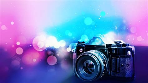 blurred wallpaper camera camera with blurred background stock photo backgrounds