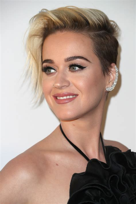 Katy Perry Hairstyles by Katy Perry Side Part Hairstyles Lookbook