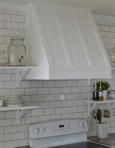 How Much Does Kitchen Cabinets Cost diy range hood cover love the tompkins