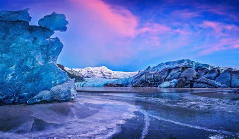 vatna glacier icelend    widescreen wallpaper
