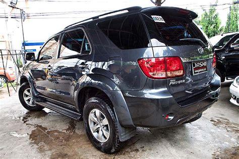 toyota fortuner  diesel gray jaski  cars  sale  cebu city