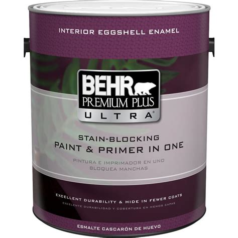 behr premium plus ultra 1 gal base eggshell enamel interior paint 275301 the home depot
