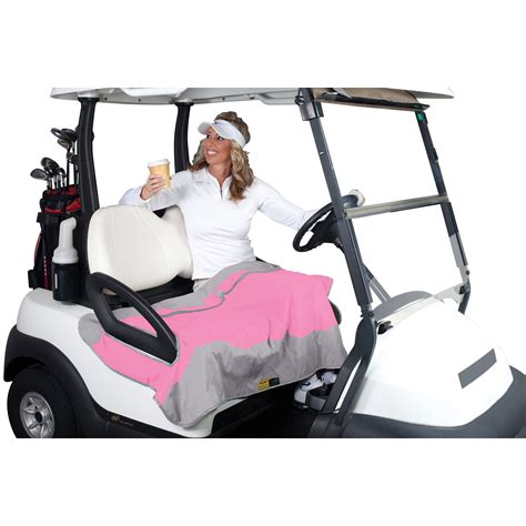 golf cart seat cover blanket classic accessories golf cart seat blanket pink gray