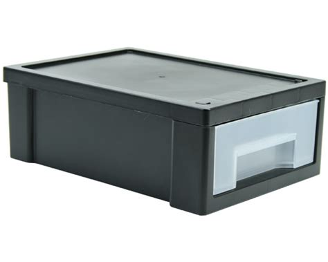 small stacking storage drawer black in desktop organizers