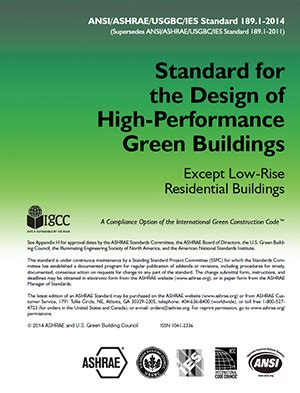 design competition ashrae standard 189 1
