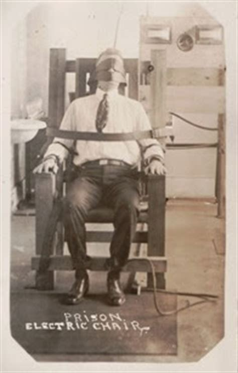 States With Electric Chair by Lost Relatives Net Thriller Thursday Attempted