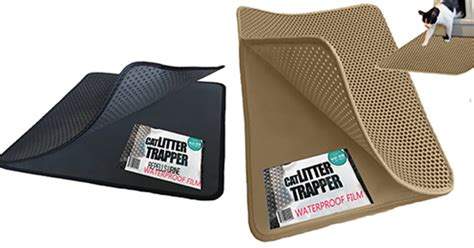 Water Trapper Mat by Cat Litter Trapper Mat With Water Proof Layer Hauspanther