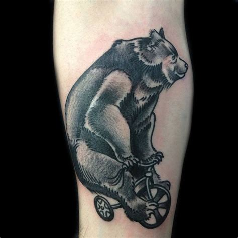 bear and wolf tattoo designs 3d hd wolf cub