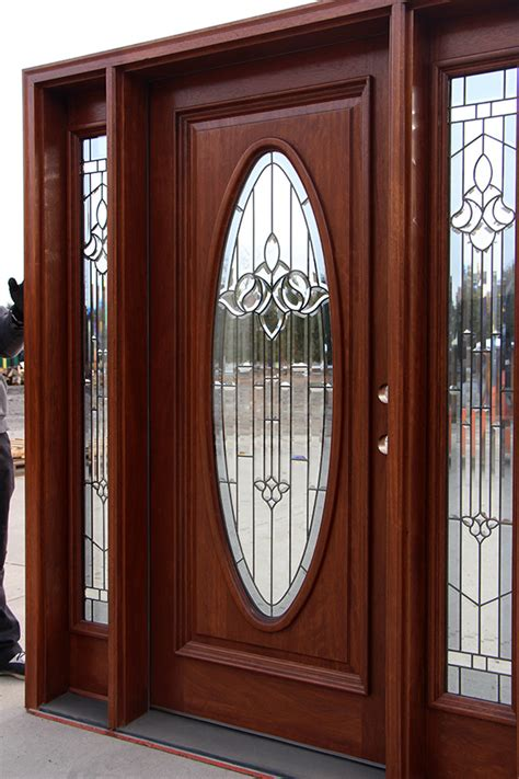 Oval Glass Front Entry Door Exterior Door With Oval Glass
