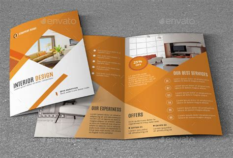 20 amazing interior design brochure templates pixel curse