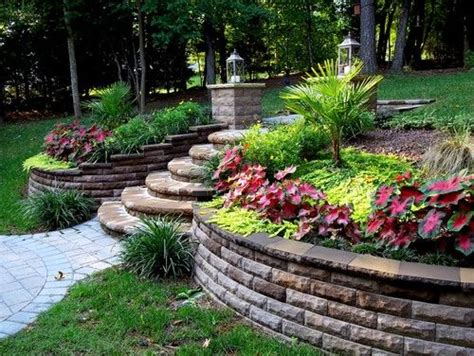 backyard slope ideas sloped backyard design pictures remodel decor and ideas