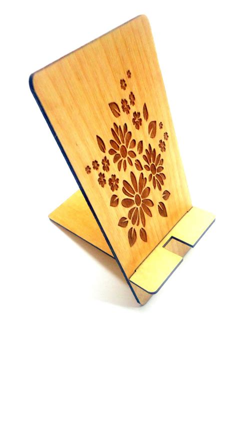 Stand Iphone Woods Vintage cell phone stand phone stand wooden stand wood idealpin