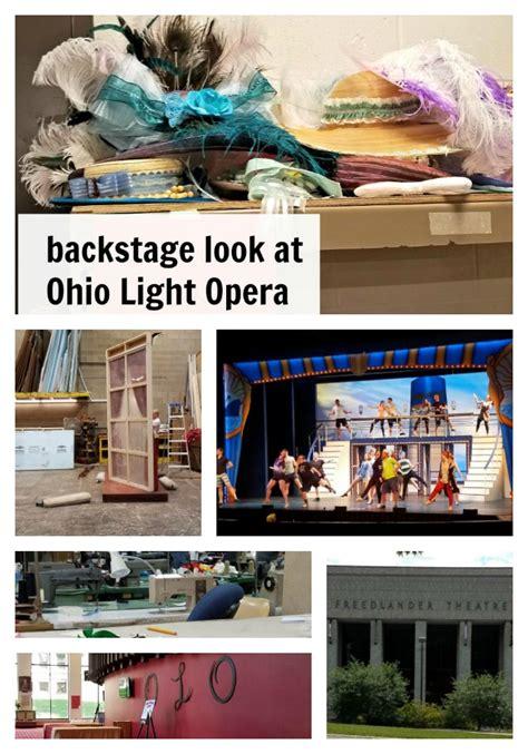 Ohio Light Opera by Backstage Look Ohio Light Opera Just Me