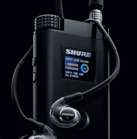 shure kse electrostatic earphone system ecousticscom