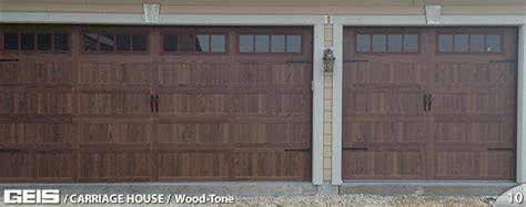 Wood Tone Carriage House Options Geis Garage Doors Geis Garage Doors