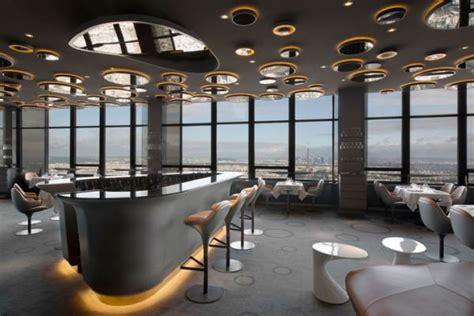 The Luxury Ciel de Paris Restaurant Interior Design