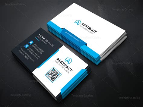 business cards templates technology business card template 000074 template catalog