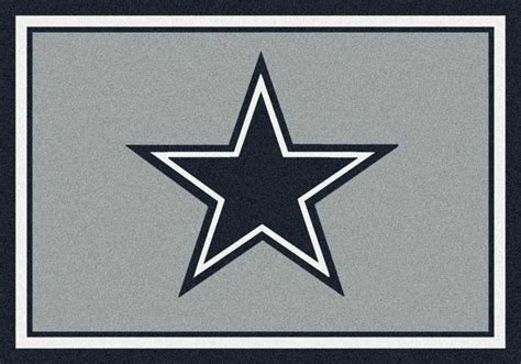 Dallas Cowboys Area Rug Nfl Team Area Rugs Nfl Team Logo Mat Nfl Sports Rugs