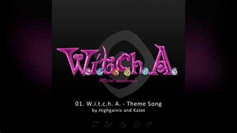 theme songs karaoke w i t c h a theme song instrumental youtube