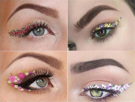 Eyeliner Flower flower eyeliner la nouvelle tendance d eye liner en
