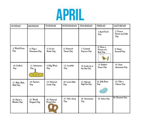fun national holiday calendar may the kirkwood call the kirkwood call fun national holidays april