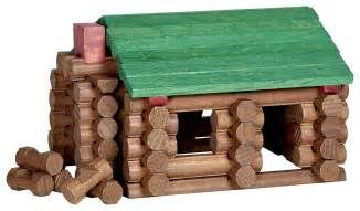 Lincoln logs bicentennial edition lincoln s log cabin 100 pcs