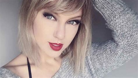 imagenes cool de taylor swift la doble de taylor swift april gloria causa sensaci 243 n en