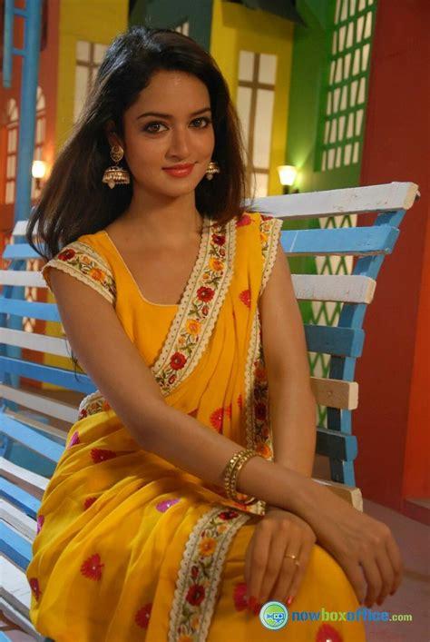 Shanvi Srivastava in Saree   Tollywood   Pinterest   India