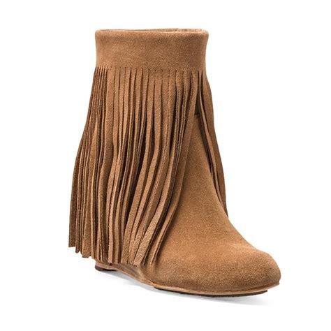 rank style koolaburra zarin fringe boot