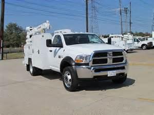 Dodge Ram Service Dodge Ram 5500 Service Mechanic Utility Truck