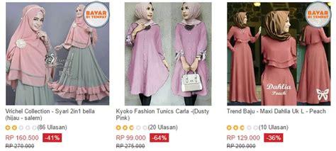 lazada fesyan jubah terkini website ecommerce pakaian khas fesyen muslimah indonesia
