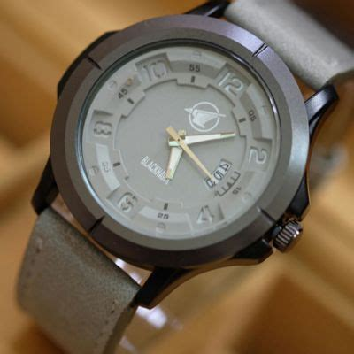 Jam Tangan Swiss Army Black Tali Kulit jual jam tangan blackhawk tali kulit jam tangan pria harga