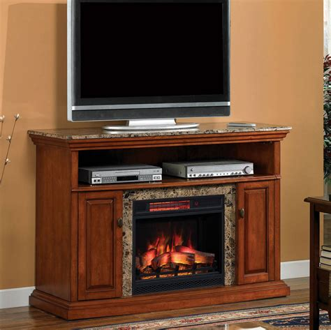 Brighton Fireplace by Brighton Infrared Electric Fireplace Media Console In