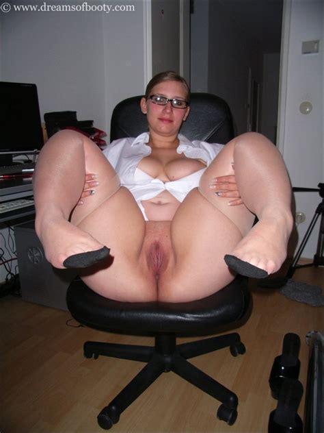 Bigbutt Blonde Nikki As Sexy Secretary Photo Album By