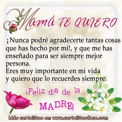 madre in spain te quiero mam 225 d 237 a de la madre spanish quotes bible notes and poem