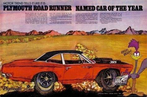 plymouth roadrunner ad dodge muscle cars mopar car