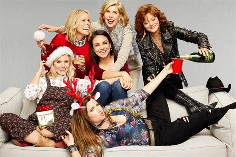 horror movies a bad moms christmas by mila kunis and kristen bell getting festive with bad moms christmas sarandon cheryl hines and christine baranski