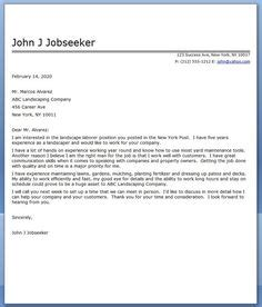 landscape architecture cover letter letter of recommendation for customer service creative
