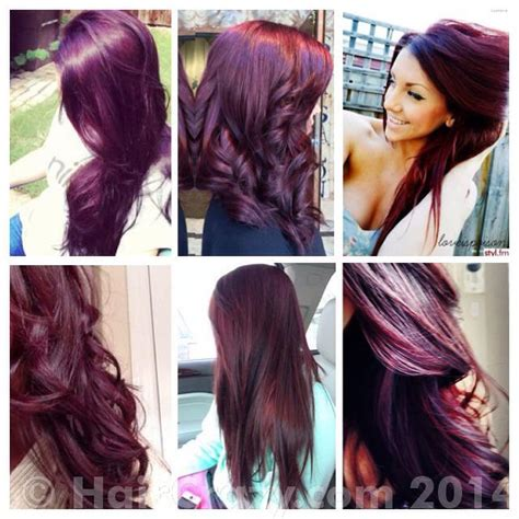plumb colour hairstyles achieving burgundy plum hair from a magenta red forums
