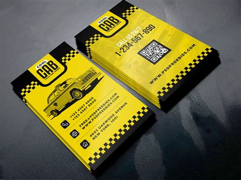 taxi business cards templates free 100 free business cards psd 187 the best of free business cards