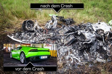 lamborghini crash lamborghini huracan crash in hungary