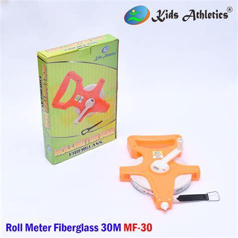 Meteran Toge Besi 2meter roll meter fiberglass mf 30 b toko peralatan olahraga