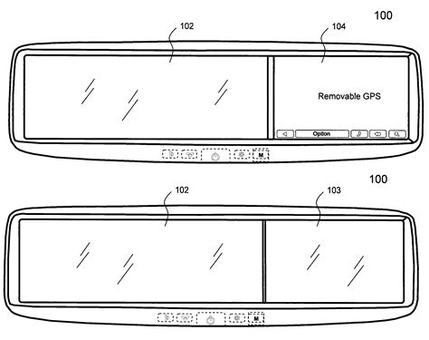 Patent US7991528 - Rear-view car mirror for accommodating ... Infogation Corporation