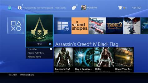 ps3 themes ps4 xmb 2 0 are wallpapers coming in a future ps4 firmware update