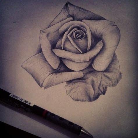 rose tattoo drawing tumblr of roses pencil drawing