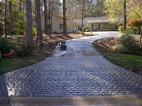 backyard driveway ideas front yard landscaping concrete curb edging artificial