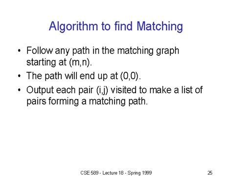Buy Matching Algorithm To Find Matching